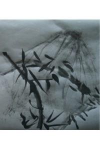 Encre de chine + le bambou voyou