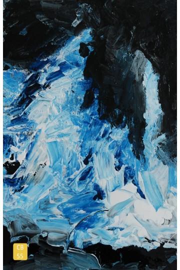 L'ivresse bleue en relief