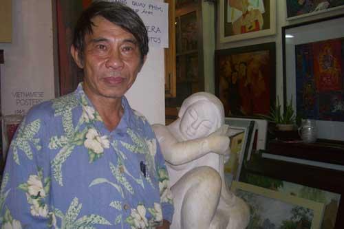 galerie Huong Xuyen à Hanoi